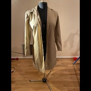 Cole Haan City Trench Coat Size S